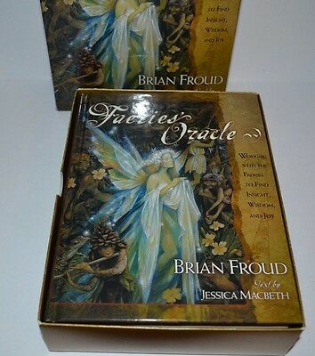 The Faeries Oracle Book Brian Froud Text By Jessica Macbeth - No Cards Included