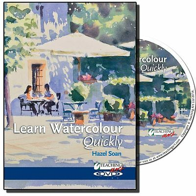 DVD - Learn Watercolour Quickly with Hazel Soan