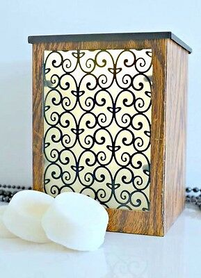 Electric oil burner / fragrance warmer with FREE 6pk Soy wax melts