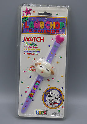 Lamb Chop & Friends Shari Lewis Character Watch Vintage 1993 New