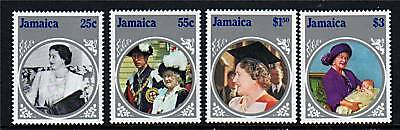Jamaica 1985 Life & Times Queen Mother SG625/8 MNH