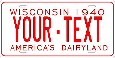 Wisconsin 1973  License Plate Personalized Custom Auto Bike Motorcycle Moped