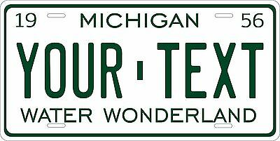 Michigan 1947 License Plate Personalized Custom Auto Bike Motorcycle Moped Tag