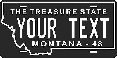 Montana 1963 License Plate Personalized Custom Auto Bike Motorcycle Moped tag