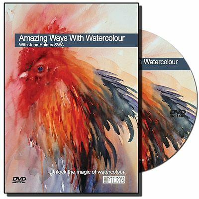 DVD - Amazing Ways with Watercolour with Jean Haines
