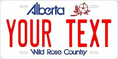 Alberta 2010 License Plate Personalized Custom Car Auto Bike Motorcycle Moped