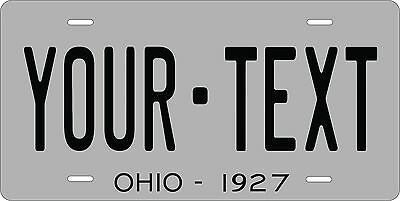 Ohio 1927 License Plate Personalized Custom Car Auto Bike Motorcycle Moped