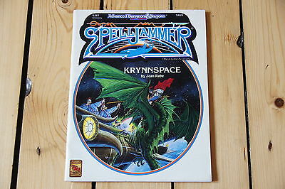 TSR Advanced Dungeons and Dragons 2nd Edition -Spelljammer KRYNNSPACE - SJR7