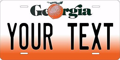 Georgia 1990 License Plate Personalized Custom Car Auto Bike Motorcycle Moped