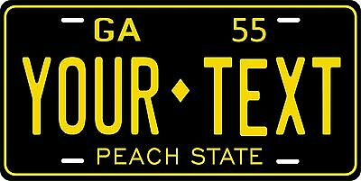 Georgia 1955 License Plate Personalized Custom Car Auto Bike Motorcycle Moped