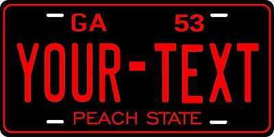 Georgia 1953 License Plate Personalized Custom Car Auto Bike Motorcycle Moped