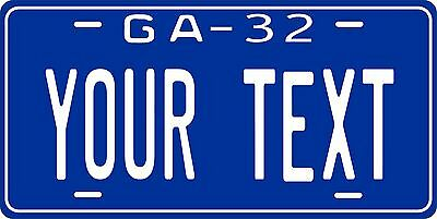 Georgia 1932 License Plate Personalized Custom Car Auto Bike Motorcycle Moped