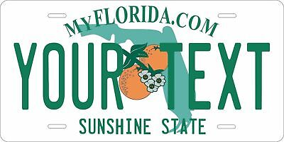 Florida 2003 License Plate Personalized Custom Car Auto Bike Moped Motorcycle