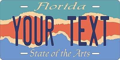 Florida Arts License Plate Personalized Custom Auto Car Bike Moped Motorcycle