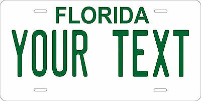 Florida 1977 License Plate Personalized Custom Auto Car Bike Motorcycle Moped