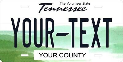 Tennessee 2006 License Plate Personalized Custom Auto Bike Motorcycle Moped