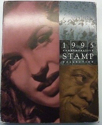 1995 USPS Commemorative Stamp Collection of postage stamps