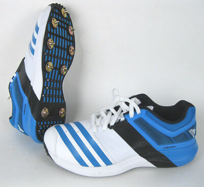 adidas adipower VECTOR Cricket Shoes Kricket Schuhe  Blau/weiß
