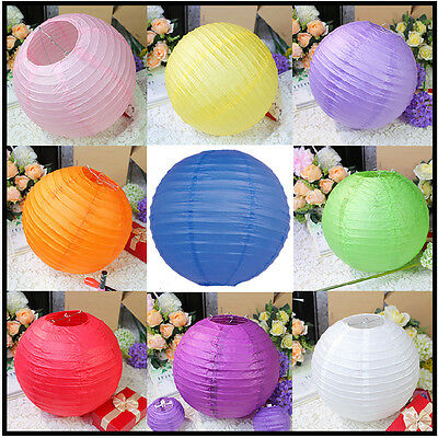 Multi Color Size ~ Chinese Lampshade Paper Lantern For Wedding Party Decoration