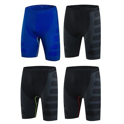 AU Men Casual Quick-Dry Sport Shorts Running Breathable Wicking Gym Briefs Pant