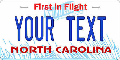 North Carolina 1981 License Plate Personalized Custom Car Bike Motorcycle Moped