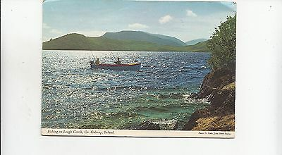 BF30409 fishing types  lough corrib ireland  front/back image