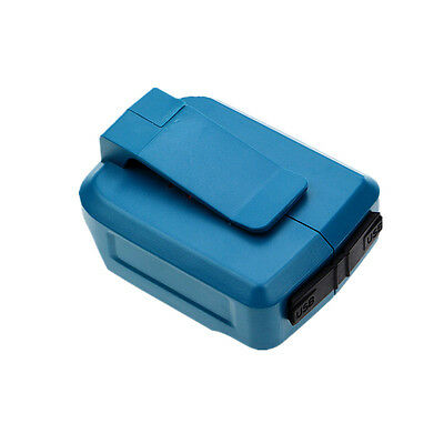 Replacement for Makita 18V/14.4V li-ion battery USB Devices Charger Accessory
