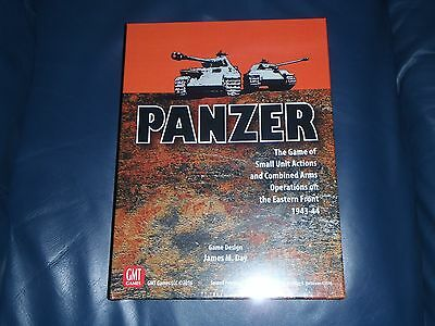 "GMT Secound Edition / Printing ""PANZER"" War Board Game.  ** NEW + SEALED **"