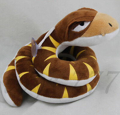"The Jungle Book Movie Kaa Character 7.5"" Stuffed Animal snake Plush soft Toy"
