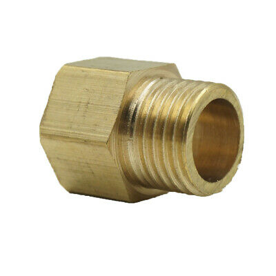 Straight/Elbow Brass Double End Pipe Fittings M/F Threaded Coupler Connectors