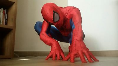 Replica del costume di Spiderman , lycra , stampato in 3d