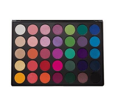 Morphe Brushes 35B bright Colours Shimmer And Matte Eyeshadow Palette