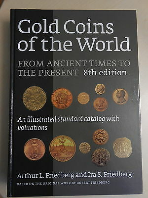 Künker: Buch Gold Coins of the World, Friedberg, 8th Edition