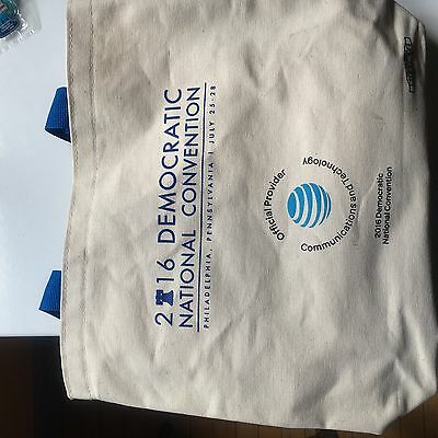 2016 Democratic National Convention DNC Canvas Tote Direct from Convention