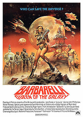 Barbarella (1968) - A2 POSTER **BUY ANY 2 AND GET 1 FREE OFFER**