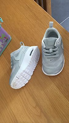 Baby Boy Nike Trainers Size Uk 4.5 Excellent Condition Genuine Nike