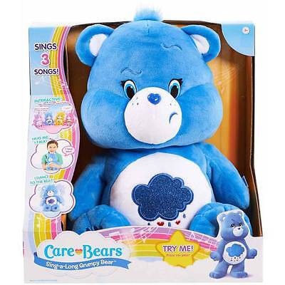 Care Bears Sing Along Grumpy Bear *** Sings Songs *** with Sound !