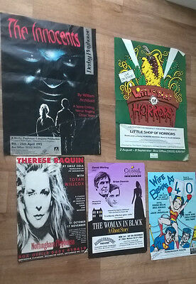 5 Theatre Posters