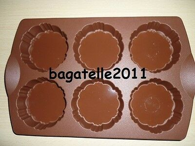 Moule à 6 tartelettes de 100 ml marron de Tupperware