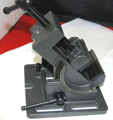 "SCT 3""/75 mm Tilting Drill Press Vice For Drilling Machine Milling Workshop"
