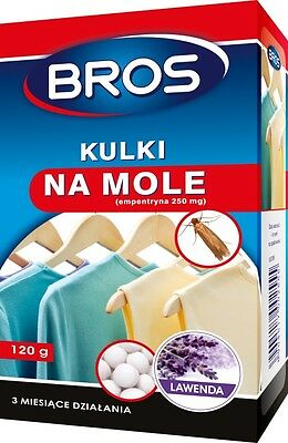 Moth Balls Protects clothings 120g Various flavours Bros