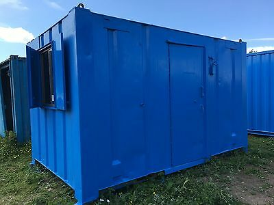Mobile Office Container (4.0m x 2.4m) Ext Refurbished - Mobileofficespace.co.uk