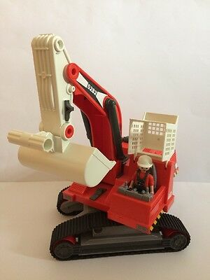 Playmobil 5282 City Action Construction Excavator Digger With Figure
