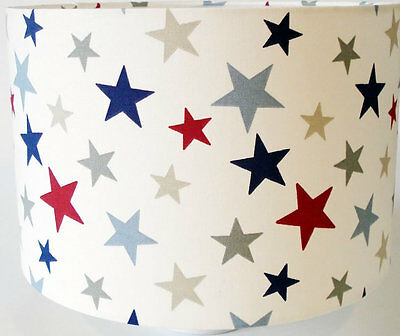 Star Fabric Lampshade / Lightshade Large