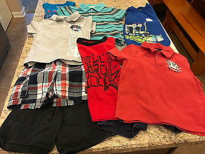 Toddler Boy Size 2/3T Summer Lot of Clothes (Total 10 items)
