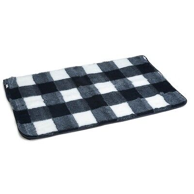 Beeztees Dog Crate Bedding Mat Polyester Washable 109x69cm Blue and White 704016