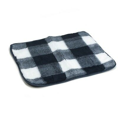 Beeztees Dog Crate Bedding Mat Polyester Washable 63x55 cm Blue and White 704013