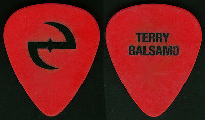 Evanescence--Rare Tour Guitar Pick! Terry Balsamo-Amy Lee! Red/black!