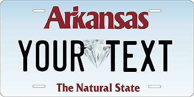 Arkansas 1965 License Plate Personalized Custom Car Bike Motorcycle Moped Tag