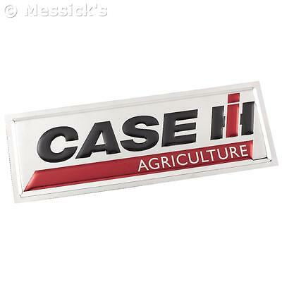 Case IH Agriculture Chrome Domz Sign. Mirror Finished. MAN CAVE COLLECTIBLE!!